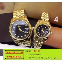 đồng hồ đôi cao cấp thép chống rỉ