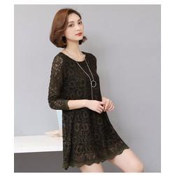 Đầm nữ dài tay, thiết kế trẻ trung, màu sắc nổi bật -D11370293