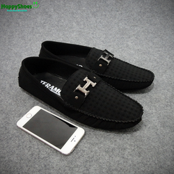 Giày lười da phong cách hàn quốc