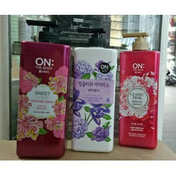 Sữa tắm On the Body Perfume Sweet Love Body Wash