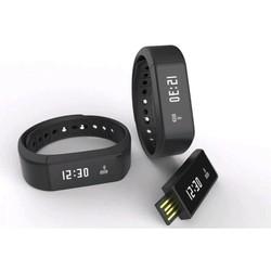 Đồng hồ vòng tay thông minh I5 Plus đen