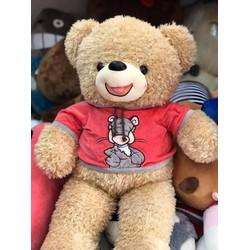 Gấu Bông Teddy Áo Thú 80cm