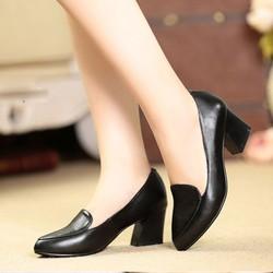 Giày cao gót công sở màu đen