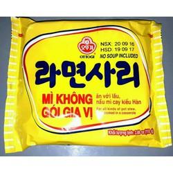 Mì Gói Không Vị Hàn Quốc