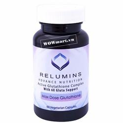 Viến uống trắng da Relumins Nutrition 60 viên Wowmart VN