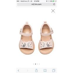 Sandal bé gái hàng hiệu xuất khẩu size nhí