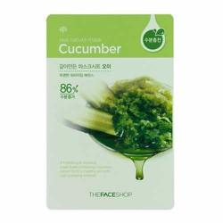 Mặt nạ dưa leo Real Nature Cucumber Concombre TheFaceShop