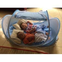 màn ngủ chống muỗi có nhạc cho bé
