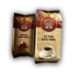 Bộ 2 sản phẩm cà phê rang xay Hân Vinh 500gr