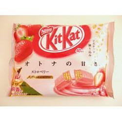KitKat dâu tây hàng xách tay Nhật Bản