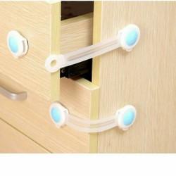 Bộ 2c khóa tủ lạnh ngăn kéo