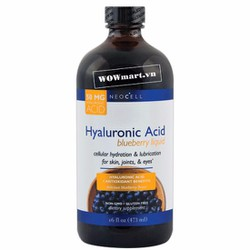 Nước việt quất Neocell Hyaluronic acid Blueberry 473ml Wowmart VN