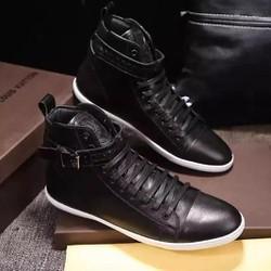 Giày tây da mềm thiết kế cao cổ,nam tính,mạnh mẽ,sang trọng