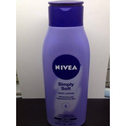 Kem dưỡng thể Nivea Simply Soft 400ml