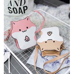 Túi đeo chéo gấu _MỎ CHU SHOP