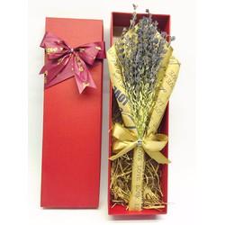 hộp hoa khô lavender