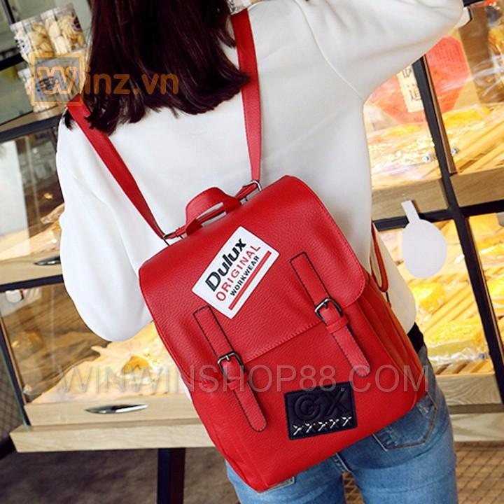 Balo Da Thời Trang Bl208 Màu Đỏ cung cấp bởi Winwinshop88 3