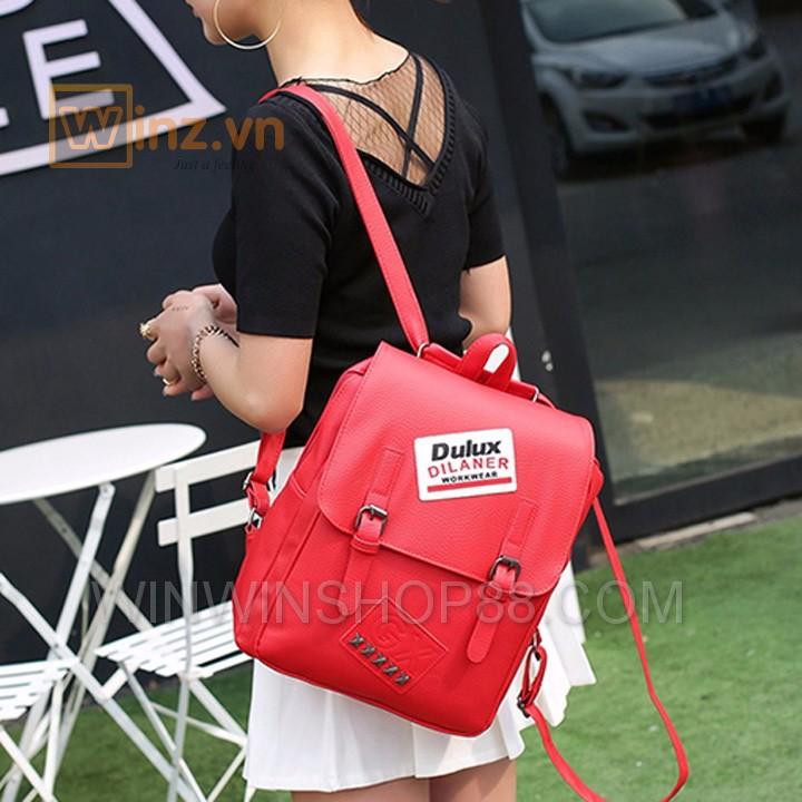 Balo Da Thời Trang Bl208 Màu Đỏ cung cấp bởi Winwinshop88 8