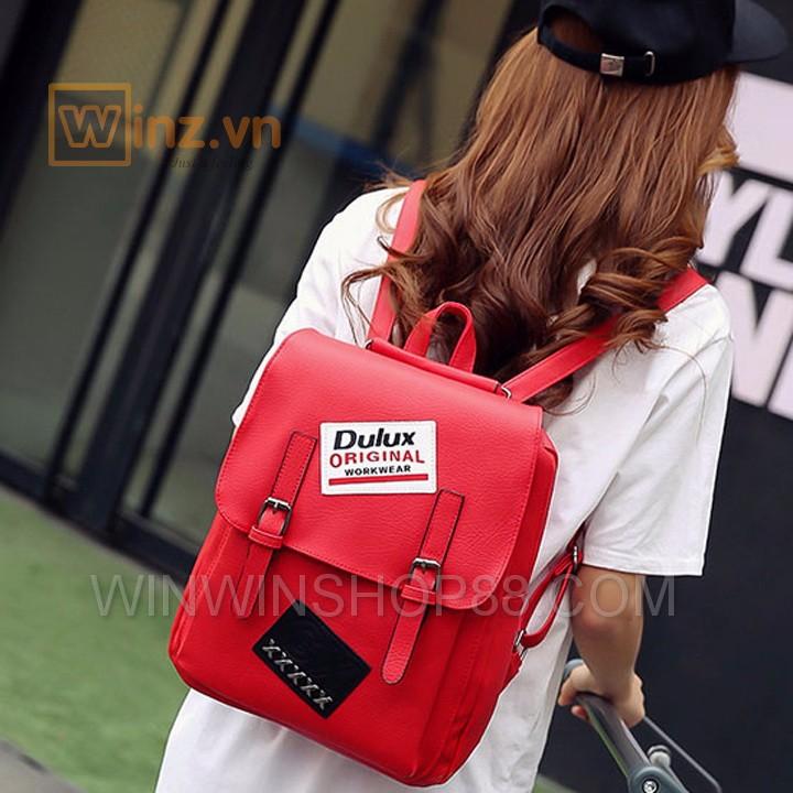 Balo Da Thời Trang Bl208 Màu Đỏ cung cấp bởi Winwinshop88 4