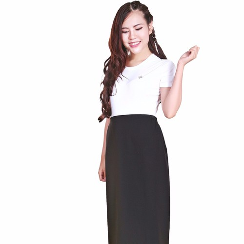 Váy chống tia uv queen-nền đen