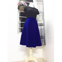 Váy xoè 2 túi - Hàng may thiết kế Hanhfs.com