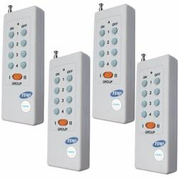 Bộ 4 cái remote điều khiển từ xa sóng xuyên tường 315Mhz RM02 - 8 nút