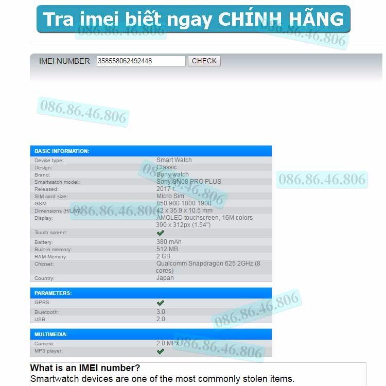 Đồng hồ thông minh Kingwear PRO PLUS SN08 3