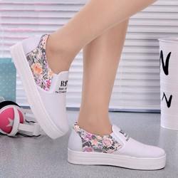 Giày Slipon nữ thêu hoa