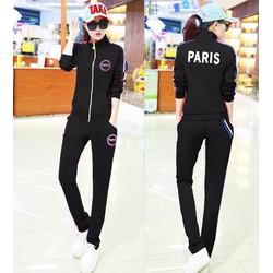 quần áo khoác bộ paris Mã: AA723 - ĐEN