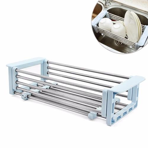 Khay inox cao cấp đa năng để bồn rửa chén co giãn tiện ích - 4209888 , 5290838 , 15_5290838 , 155000 , Khay-inox-cao-cap-da-nang-de-bon-rua-chen-co-gian-tien-ich-15_5290838 , sendo.vn , Khay inox cao cấp đa năng để bồn rửa chén co giãn tiện ích