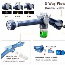 Vòi xịt nước tăng áp 8 chế độ