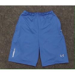 Quần short thun thể thao logo Amor - màu xanh da