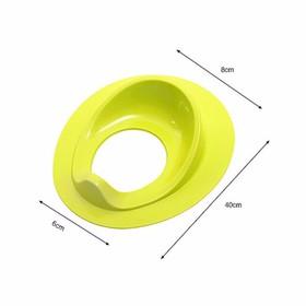 Miếng Lót bồn cầu nhựa dẻo tiện dụng - lot bon cau