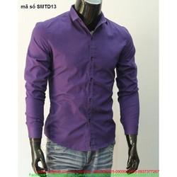 Áo sơ mi nam công sở tay dài phong cách lịch lãm nam tính SMTD13
