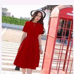 Đầm xòe Vintage