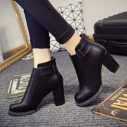 Boot nữ cổ ngắn ĐƠN GIẢN trẻ trung