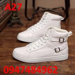 Giày nam phong cách Hàn Quốc A27