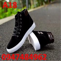 Giày nam cao cổ thể thao Hàn Quốc A18