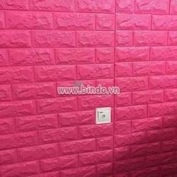 Xốp đá dán tường