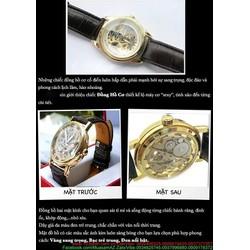 Đồng hồ cơ tự động 5 kim chạy phong cách sang trọng DHDT141
