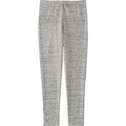 Quần legging dài trơn bé gái trơn màu 06 Gray - hàng nhập Nhật