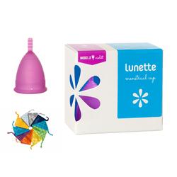 [HÀNG CHÍNH HÃNG] Cốc nguyệt san Lunette, màu tím, size 2