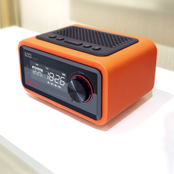 Loa Bluetooth - Đài FM - Đồng hồ báo thức Loci