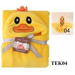 Khăn bông tắm trẻ em TEK04