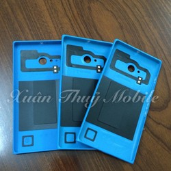 Vỏ nắp pin cho Nokia- Lumia 730 xanh dương