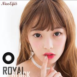Kính áp tròng Nice Eyes - Royal Black