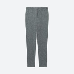 Quần legging dài trơn bé gái màu 08 Gray - hàng nhập Nhật