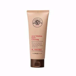 Sữa rửa mặt trị mụn Clean Face Acne Solution Cleansing