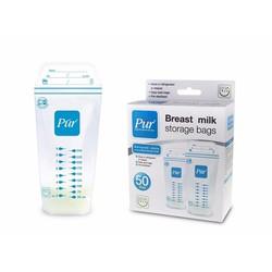Túi trữ sữa Pur giá 140k hộp 50 túi thái lan