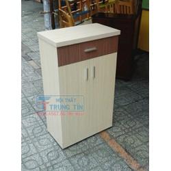 Tủ để giày dép gỗ MFC vân kem 60 cm